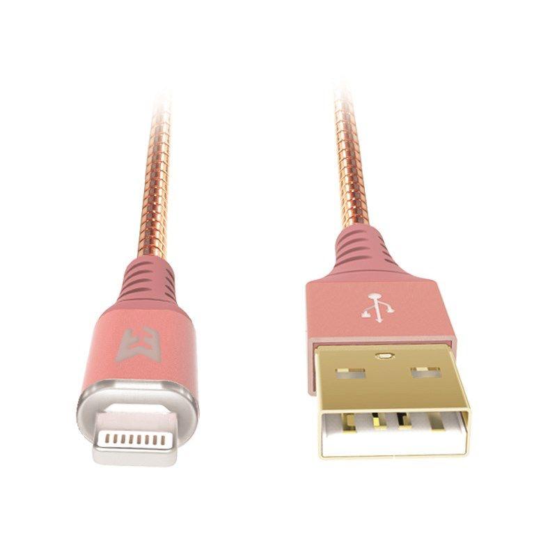EFM EFM MFI Approved Lightning Cable short 25cm - BLACK