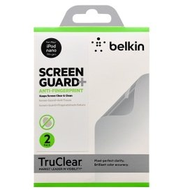 Belkin Belkin Screenguard overlay - ANTISMUDGE - for iPod Nano 7th Gen