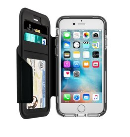 EFM EFM Monaco D3O Wallet Case suits iPhone 7/8 - Crystal/Black