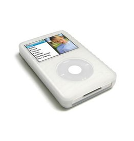 Gecko Gecko Glove Silicon Protection for the iPod Classic with Anti-Glare Guard - Frost