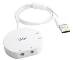 Griffin Griffin iMic 2 USB audio interface (mic, line in and out)