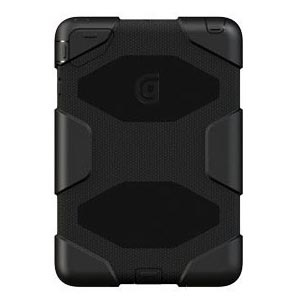 Griffin Griffin Survivor Case suits iPad mini - Black/Black
