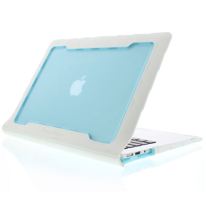 "Gumdrop Gumdrop MacBook Air 13"" - Droptech White/Blue"