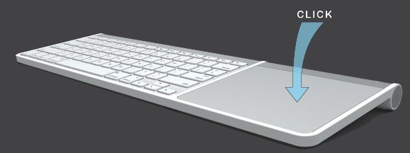 Hengedocks Hengedocks Clique - Unite Apple's Wireless Keyboard and Magic Trackpad into a single unit