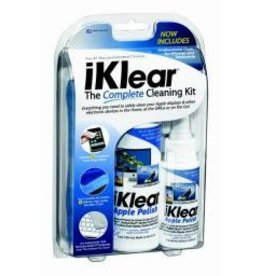 Klear Screen iKlear Complete Cleaning Kit (60ml & 180ml Spray Bottles & More)