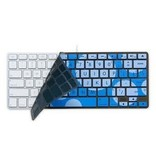 iSkin iSkin ProTouch Vibes for keyboard without keypad - Sonic (Blue + light blue)