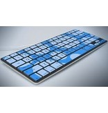iSkin iSkin ProTouch Vibes for MacBook/Pro/Air - Day Dream (Blue + Light Blue)