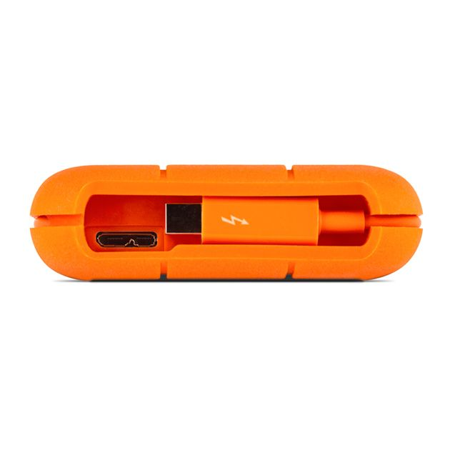 Lacie LaCie 2TB HD Rugged Thunderbolt™ Professional All-Terrain Storage Thunderbolt | USB 3.0