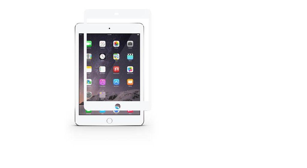 Moshi Moshi iVisor XT Retina Clear for iPad mini - White