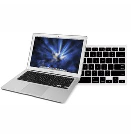 "Newertech NewerTech NuGuard Keyboard Cover Silicone Skin for 2010/11 MacBook Air 13"" - Black"