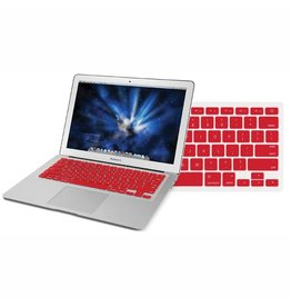 "Newertech NewerTech NuGuard Keyboard Cover Silicone Skin for 2010/11 MacBook Air 13"" - Red"
