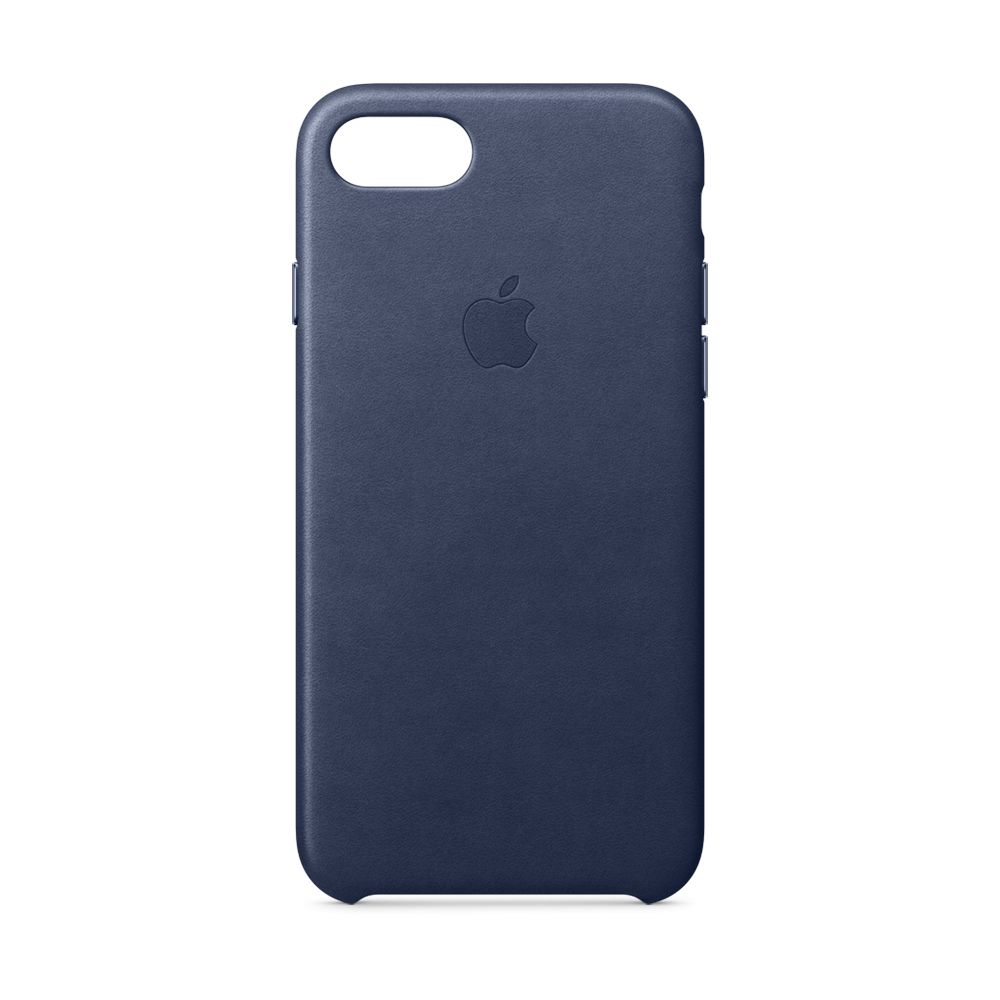 Apple Apple Leather Case for iPhone 8/7 - Midnight Blue