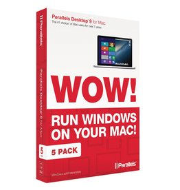 Parallels Superseded - Parallels Desktop 9 for Mac - 5 user CLEARANCE price