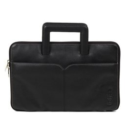 "Toffee Toffee Brief with Handle for 11"" Macbook Air - BLACK"