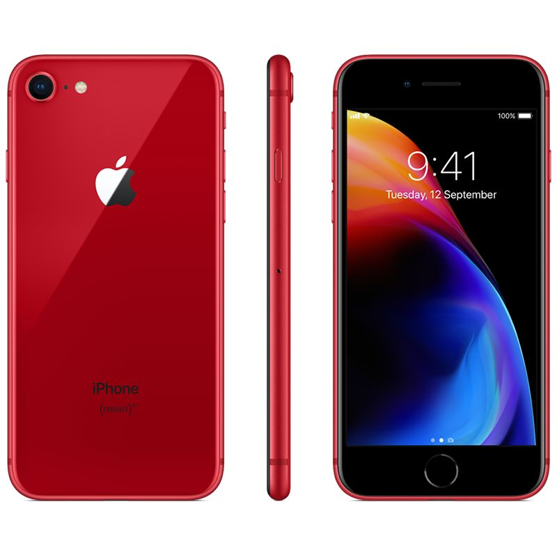 Apple Apple iPhone 8 Plus 256GB (Product) Red