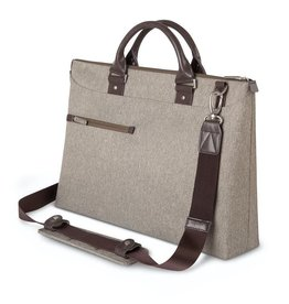 Moshi Moshi Urbana Briefcase for 13-15 laptops + iPad compartment Sandstone Beige