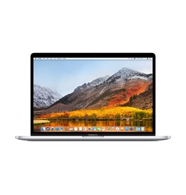 Apple 15-inch MacBook Pro with Touch Bar - Silver 2.2GHz 6-core  i7 / 256GB / 16GB RAM / Radeon Pro 555X 4GB - Silver