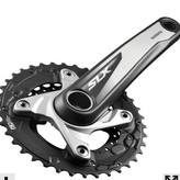 Dunbar Cycles Out of box Shimano SLX crankset