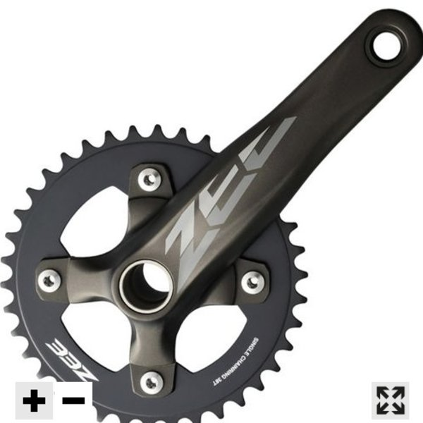 Dunbar Cycles out of box Shimano Zee cranks