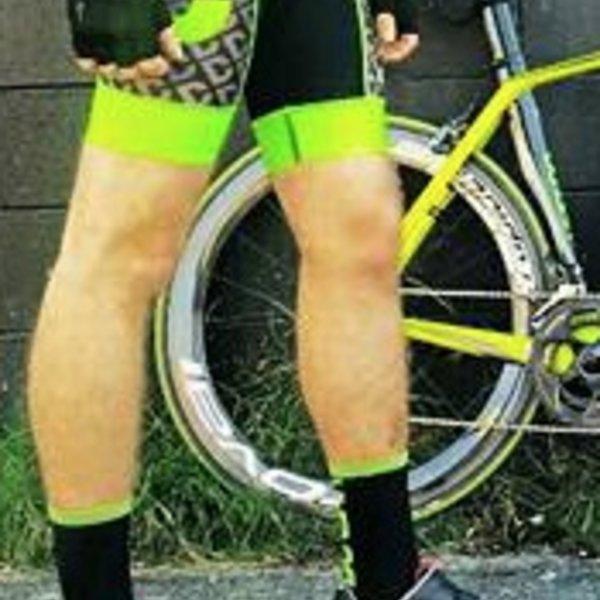 Dunbar Cycles Dunbar Elite 8 Panel Bib Shorts w/ 3-Layer Cartolini Pad