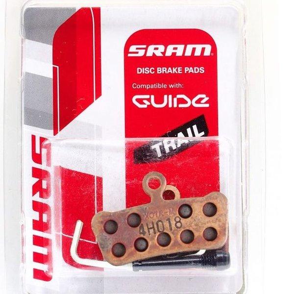 Lambert Sram Trail/Guide Disc Brake Pad Metal Steel Back Plate