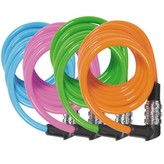 Lambert Abus 1150 Kids Cable Combination Locks, Assorted Colours