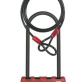 Lambert Abus, Ultimate Combo Pack, U-Lock and cable, 230/107mm/14mm