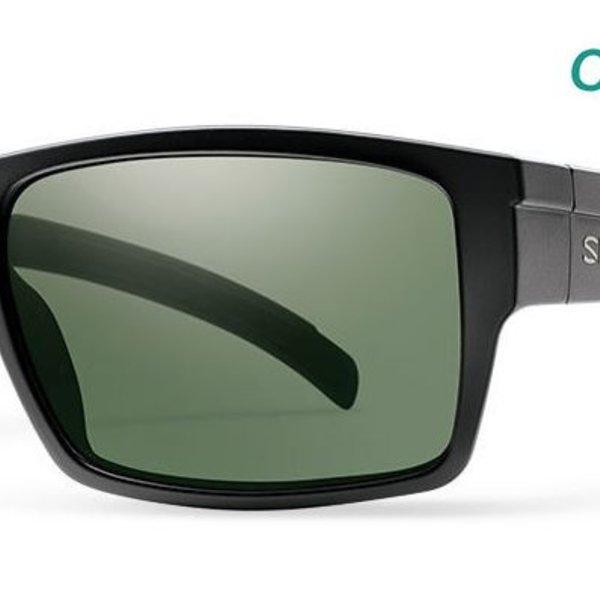 Smith Optics Smith Outlier XL, ChromaPop, Matte Black w/ Polarized Grey Green, OSFA