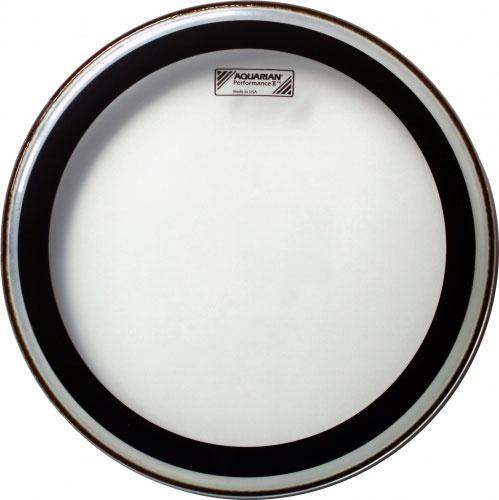 "Aquarian PF16 Performance II 16"" Clear Drumhead"