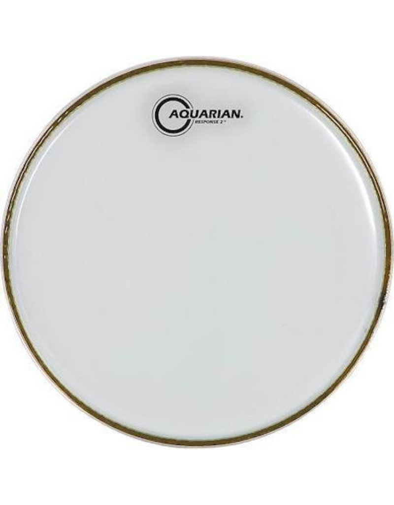 "AQUARIAN 14"" Repsonse 2 Clear 2 Ply Drumhead"