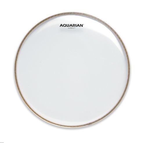 """AQUARIAN 8"""" Super 2 Clear 2 Ply Drumhead"""