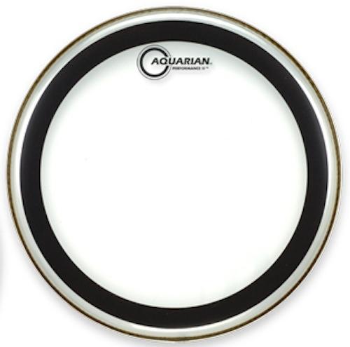"Aquarian 10"" Performance II Clear Drumhead"