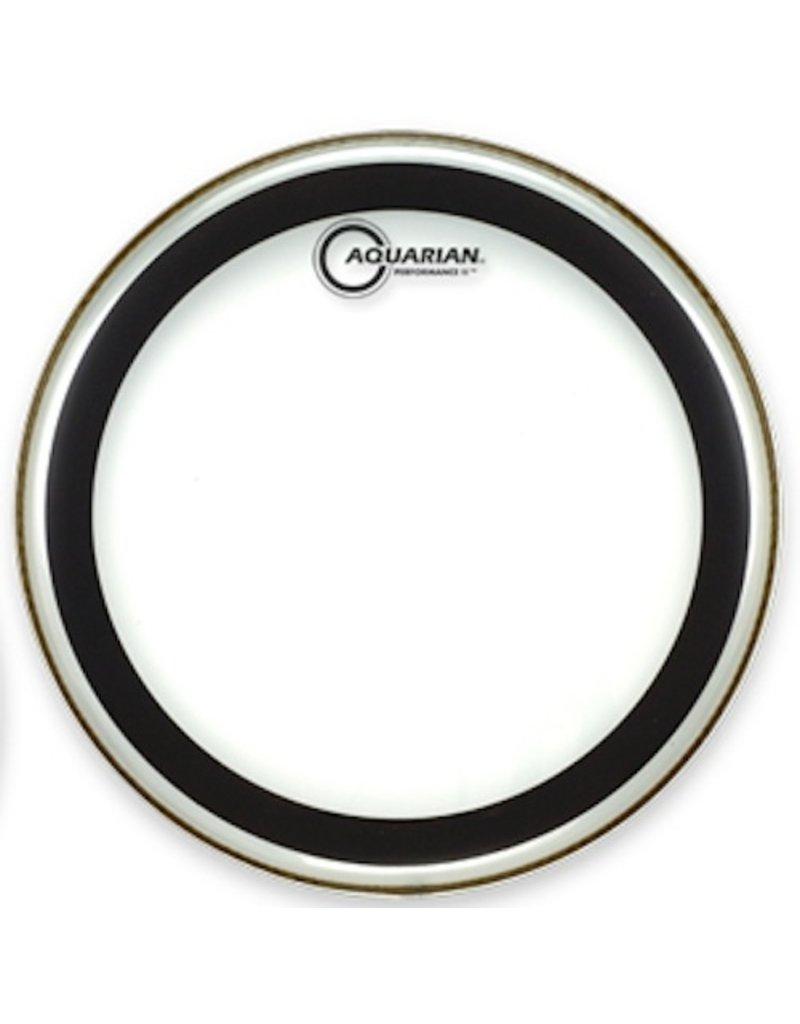 "AQUARIAN 14"" Performance II 2 Ply Clear Drumhead"