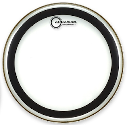 "AQUARIAN 14"" Performance II 2 Ply Clear Drumhead"