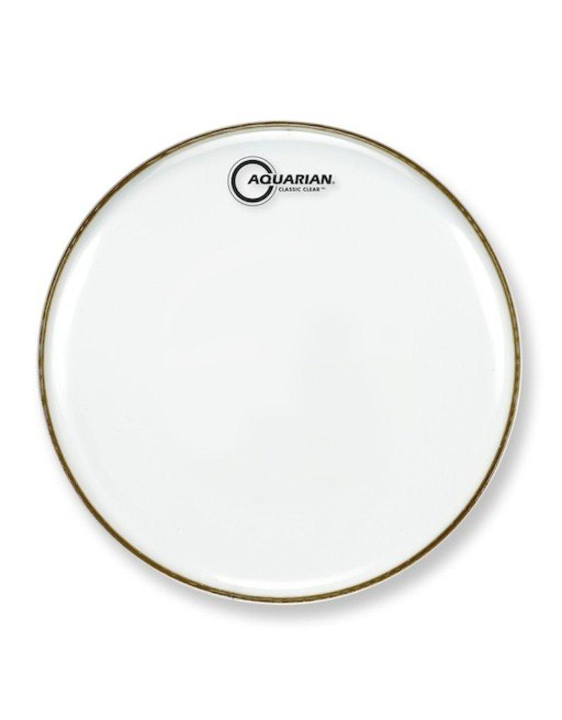 "AQUARIAN 13"" CLASSIC CLEAR Single Ply Drum Head"