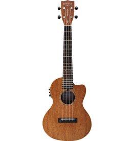 Gretsch G9121 Tenor A.C.E. Ukulele with Gig Bag, Acoustic-Cutaway-Electric, Fishman® Kula Pickup, Honey Mahogany Stain