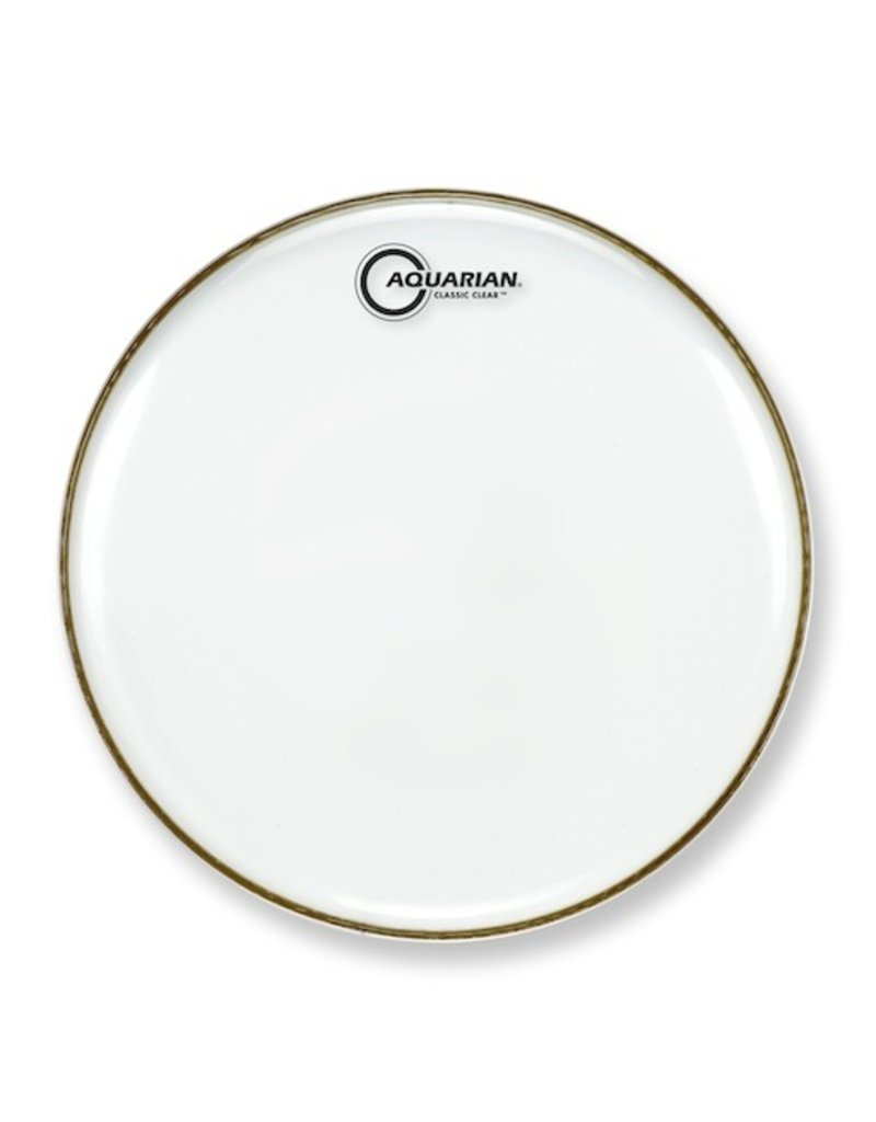 "AQUARIAN 14"" Classic Clear Single Ply Drum Head"