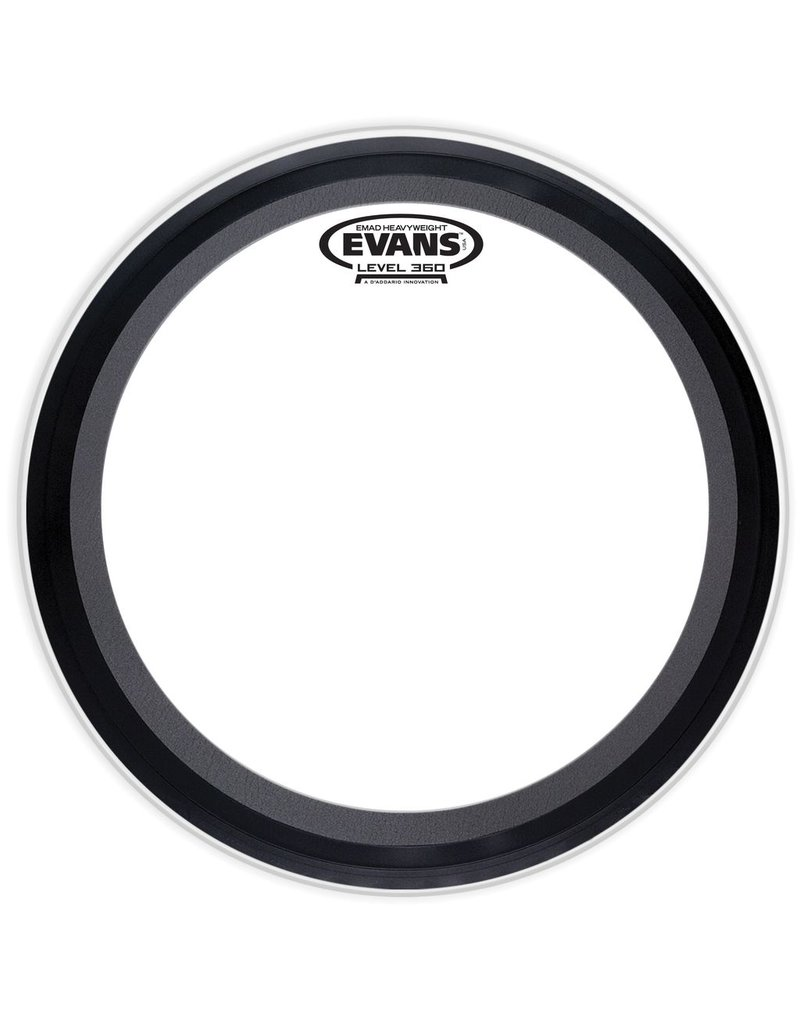 "Evans 22"" 2 Ply EMAD Clear Bass Drumhead"