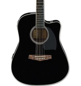 Ibanez Ibanez Preformance Series PF15ECE Acoustic-Electric Guitar-Black