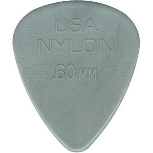 12 Pack-Dunlop Nylon Standard <br />.60 mm Guitar Picks