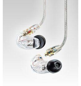 Shure Single Driver In-Ear Monitors with Detachable Cable