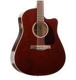 Seagull Seagull Entourage CW GT QI Acoustic-Electric Guitar-Burgundy