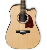 Ibanez AW400CE Acoustic-Electric Guitar-Natural