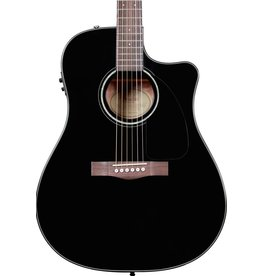 Fender CD60-CE Acoustic-Electric Guitar-Black
