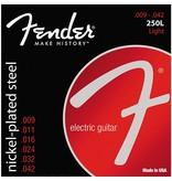 Fender Super 250L Nickel-Plated Steel Electric Guitar Strings - Light