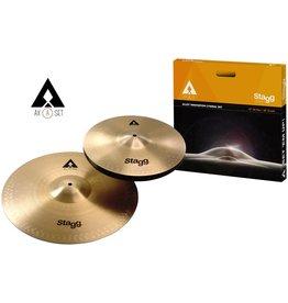 "STAGG AXA Cymbal Set-13"" Hi-Hats & 16"" Crash Cymbal"