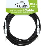 Fender Fender Performance 18.6' Instrument Cable-Black