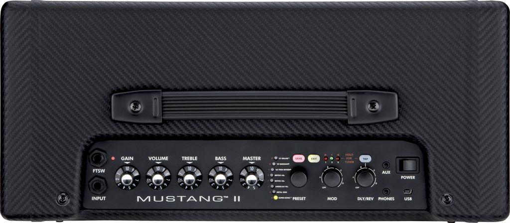 fender mustang ii v 2 1x12 40 watt combo guitar amp sound of music. Black Bedroom Furniture Sets. Home Design Ideas