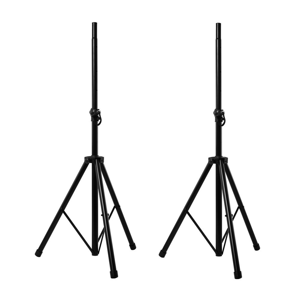 Nomad Heavy Duty Speaker Stands w/Carrying Bag-Black
