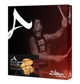 "Zildjian A Series A391 Cymbal Package with FREE 18"" Crash Cymbal"